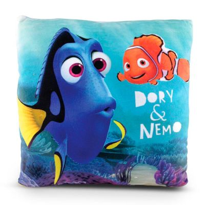 Almofada Estampada 30x30 Cm - Disney - Procurando Dory - Dory e Nemo - DTC