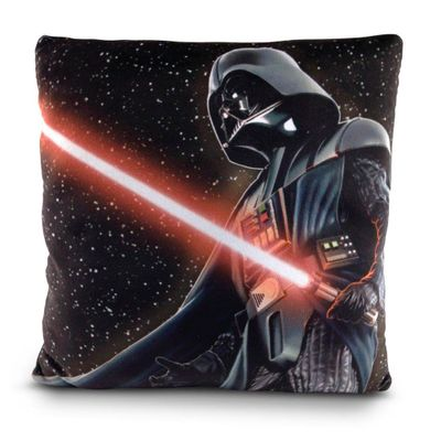 Almofada Estampada 30x30 Cm - Disney - Star Wars - Darth Vader - DTC