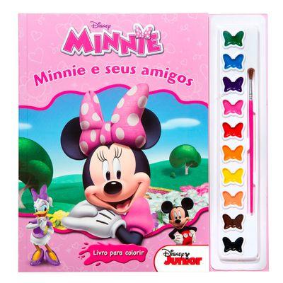 Livro Disney - Coleção Aquarela - Minnie Mouse - DCL