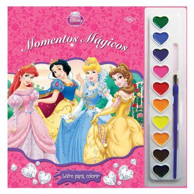 Livro Disney - Coleção Aquarela - Princesas Disney - DCL