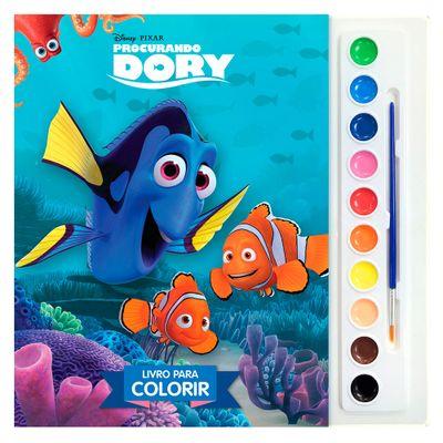Livro Disney - Coleção Aquarela - Procurando Dory - DCl