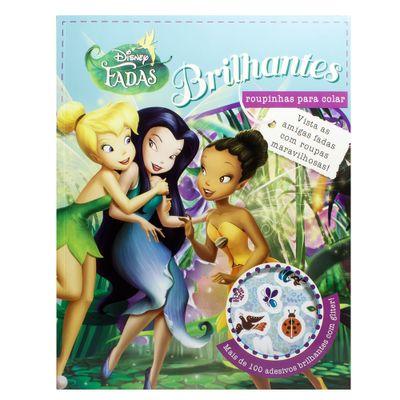 Livro - Disney Fadas - Roupinhas Adesivas - DCL