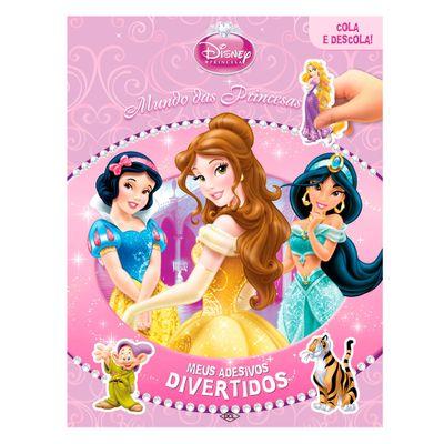 Livro - Meus Adesivos Divertidos - Disney Princesas - DCL