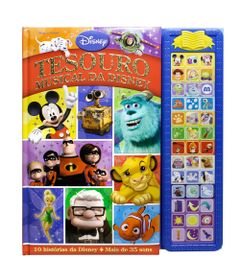 Livro-Musical-Disney---Tesouro-Musical---DCL