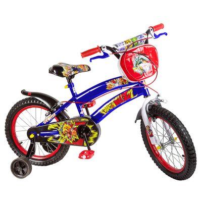 Bicicleta ARO 16 - Dragon Ball Z - Azul Claro - Uni Toys