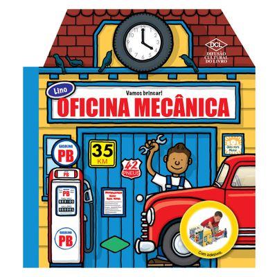 Livro com Adesivos - A Oficina Mecânica do Lino - DCL