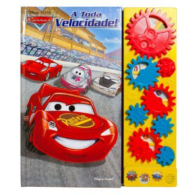 Livro Musical Disney - Carros - A Toda Velocidade - DCL