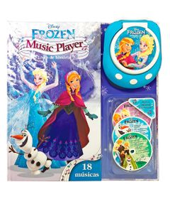 Livro-Music-Player-Disney---Frozen---DCL