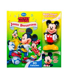 Livro-Music-Player-Disney---Mickey-Mouse---DCL
