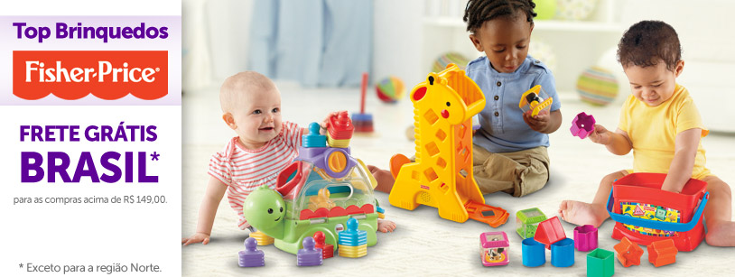 Top Brinquedos Fisher-Price