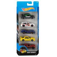 Carrinhos-Hot-Wheels---Pacote-com-5-Carros---Nigth-Burnerz---Mattel