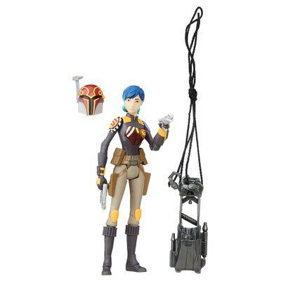 Figura-Articulada---Star-Wars---10-cm---Rogue-One---Sabine-Wren---Disney---Hasbro