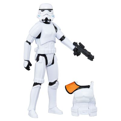 Figura Articulada - Star Wars - 10 cm - Rogue One - Stormtrooper - Disney - Hasbro