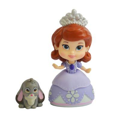 Boneca em Vinil - 7 CM - Disney - Princesinha Sofia - Sofia e Acessórios - Sunny