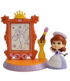 Playset-e-Boneca---7-CM---Disney-Princesas---Princesinha-Sofia---Aula-de-Arte---Sunny