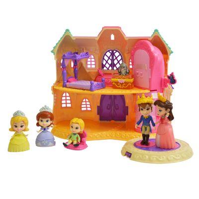 Playset e Mini Figura - Disney - Princesinha Sofia - Castelo da Princesa - Sunny