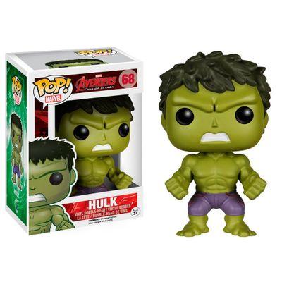 Figura Colecionável - Funko POP - Disney - Marvel - Avengers A Era de Ultron - Hulk - Funko