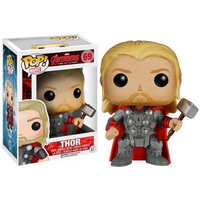 Figura Colecionável - Funko POP - Disney - Marvel - Avengers A Era de Ultron - Thor - Funko