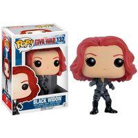 Figura-Colecionavel---Funko-POP---Disney---Marvel---Guerra-Civil---Viuva-Negra---Funko