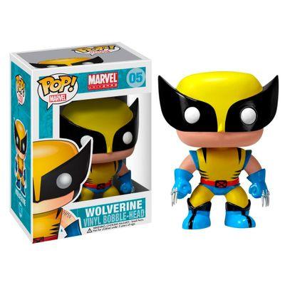 Figura-Colecionavel---Funko-POP---Disney---Marvel---Wolverine---Funko