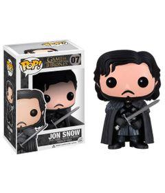 Figura-Colecionavel---Funko-POP---Game-Of-Thrones---Jon-Snow---Funko