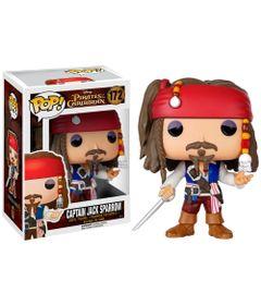 Figura-Colecionavel---Funko-POP---Piratas-do-Caribe---Capitao-Jack-Sparrow---Funko