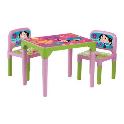 Mesa com Cadeiras - O Show da Luna - Multibrink