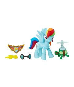 Figura-Articulada-My-Little-Pony---Guardians-of-Harmony---Rainbow-Dash---Hasbro-B6008-frente