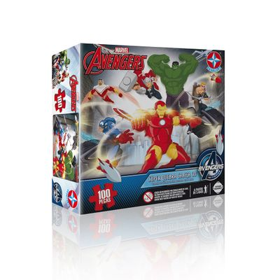 Quebra-Cabeça 3D - Marvel Avengers - Estrela