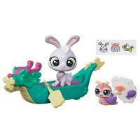 Mini-Boneca-com-Veiculo---Littlest-Pet-Shop---Passeios-na-Cidade---Resa--Haiku-e-Ella-Escargot---Hasbro