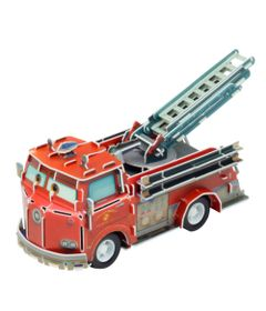 Quebra-Cabeca-3D---Disney---Carros---Red---DTC