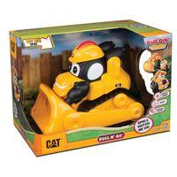 Veiculo-com-Luzes-e-Sons---CAT-Roll--N-Go---Escavadeira---DTC