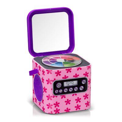 Caixa de Som com Maquiagem - My Style Beauty Box - Flores - Multikids