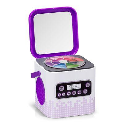 Caixa de Som com Maquiagem - My Style Beauty Box - Estrelas - Multikids