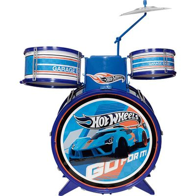 Bateria Infantil - Hot Wheels - Barão Toys