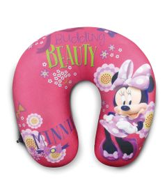 Almofada-para-Pescoco---Disney---Minnie-Mouse---Vermelha---Taimes