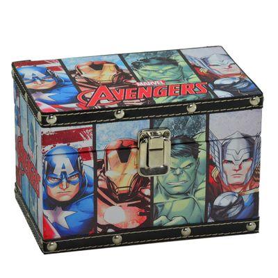 Caixa com Fecho Avengers - Marvel - Disney - Mabruk