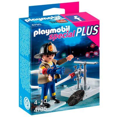 Playmobil - Especial Plus - Bombeiro - 4795