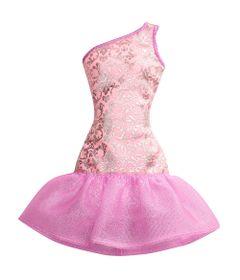 Roupinha-para-Boneca-Barbie---Rosa-e-Roxo---Mattel