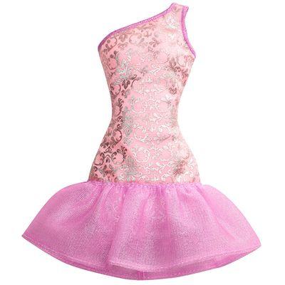 Roupinha para Boneca Barbie - Rosa e Roxo - Mattel