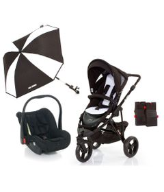 Travel-System-com-Adaptador---Cobra-Phantom-e-Guarda-Sol-Sunny---ABC-Design
