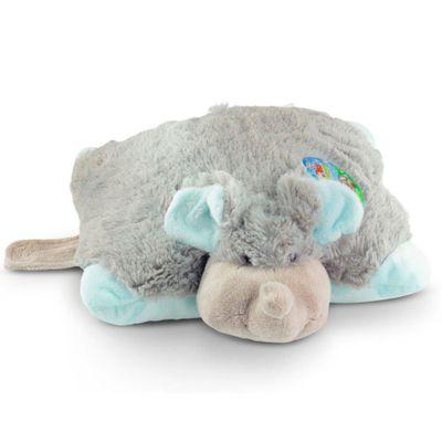 Pelúcia - Pillow Pets de Chão - Animais Coloridos - Elefante - DTC