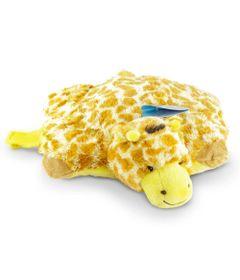 Pelucia---Pillow-Pets-de-Chao---Animais-Coloridos---Girafa---DTC