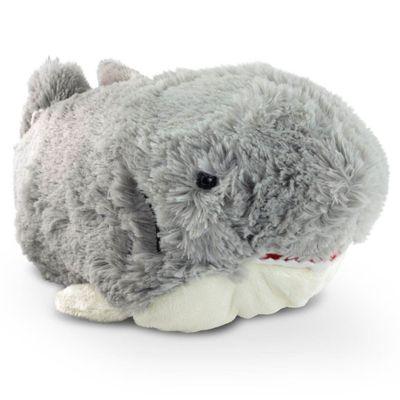 Pelúcia - Pillow Pets de Chão - Animais Coloridos - Tubarão - DTC