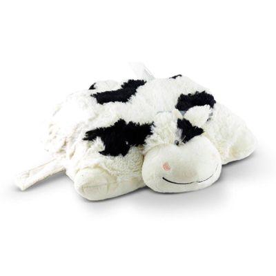 Pelúcia - Pillow Pets de Chão - Animais Coloridos - Vaca - DTC