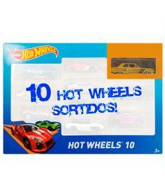 Carrinhos-Hot-Wheels---Pacote-com-10-Carros---N---Mattel