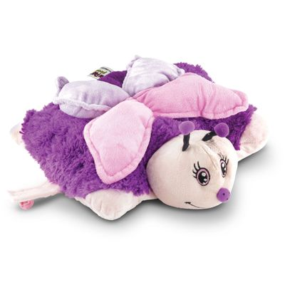 Pelúcia - Pillow Pets de Chão - Animais Coloridos - Borboleta - DTC