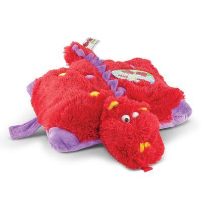 Pelúcia - Pillow Pets de Chão - Animais Coloridos - Dinossauro - DTC