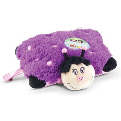 Pelúcia - Pillow Pets de Chão - Animais Coloridos - Joaninha - DTC