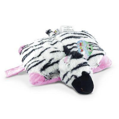 Pelúcia - Pillow Pets de Chão - Animais Coloridos - Zebrinha - DTC